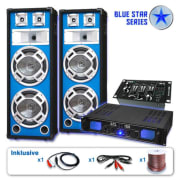 PA Set Blue Star Series 'Basskern USB' 2800 Watt