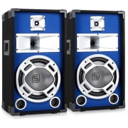 Para 25cm głośników PA efekt świetlny 2x400W kolumny