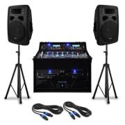 """DJ PA szett """"Urban Trip-Hop Beats"""" 1000 W teljesítménnyel"""