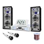 "Set DJ PA ""Polar Bear"" Table de mixage ampli enceintes 2200W"