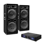 Set DJ-20 2000W amplificatore casse cavi