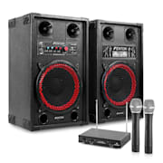 """Karaoke zariadenie """"STAR-Neukölln"""" reproboxy rádio mikrofón"""