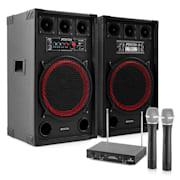 """Karaoke szettek""""STAR-Kreuzberg"""", SPB-12 Aktív/Passzív 12"""" PA Hangfalak 800 W"""