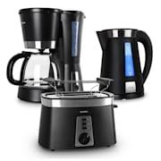 Sunday Morning Breakfast Set Coffee Machine Kettle & Toaster