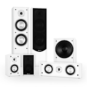 Linie-300-WH 5.1 home cinema soundsysteem 515W RMS