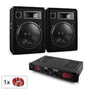 "Set audio DJ ""Malone Bluetooth"" Altoparlante Amplificatore 1000W"