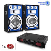 "PA Set Blue Star Seria ""Basscore Bluetooth"" 1000W"
