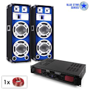 "PA Set Blue Star Series ""Bassound Bluetooth"" 1000W"