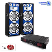 "PA set Blue Star Series ""Beatsound bluetooth MP3"" 2000 W"