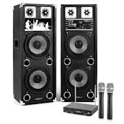 "Караоке Комплект ""STAR-28A"" високоговорители, безжичен микрофон, 800W"
