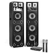 "Караоке комплект, ""STAR-238A"", PА високоговорители, микрофонен комлект 1400 W"