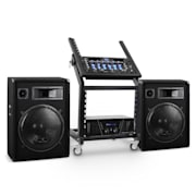Sistema DJ PA Set Rack Star Series Venus Bounce Bluetooth