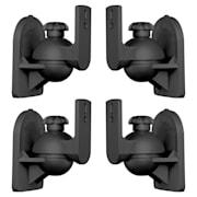 SB-28 Set of 4 Black Speaker Mounts < 3.5 kg