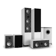 Reference 851 5.1 sound system wit incl. zwarte covers Wit | Zwart