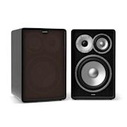 Retrospective 1978 MKII, два 3 посочни високоговорителя за рафт, черно, черно-кафяво покритие Черно | Черно | No Stands
