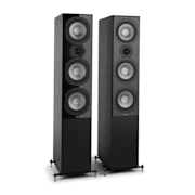 Reference 801 Three-way Standing Speakers Black Black | No Cover