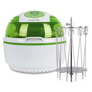 Fritadeira de Ar Quente 1400W 9L | Rotador p/ Espetos Rotativos Verde