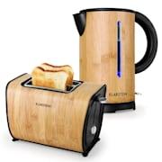 Bamboo Garden ontbijtset small - waterkoker | toaster | bamboe