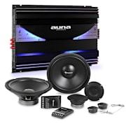 CS-Comp-12 Car-HiFi-Set | Altifalantes | Amplificador de 6 Canais 570W RMS