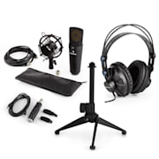 MIC-920B Zestaw mikrofonowy USB V2 słuchawki mikrofon pojemnościowy statyw pop-filtr
