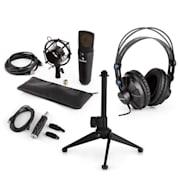 MIC-920B USB, mikrofon set V2 – slušalice, kondenzatorski mikrofon, stalak, pop filter