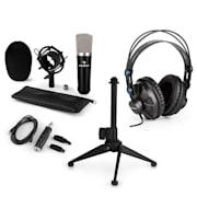 CM003, mikrofon set V1 – kondenzatorski mikrofon, USB-konverter, slušalice