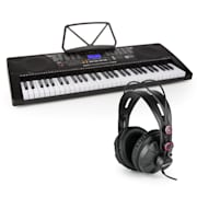 Etude 225 USB Inlärnings-keyboard med Hörlurar 61 Tangenter USB LCD Display