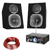 HIFI STEREO SOUND SET, usb, sd, mp3 - 30 W