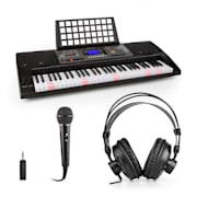 Etude 450 Set d'apprentissage clavier casque porte-partitions micro