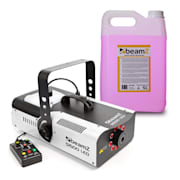 S1500LED Fog Machine Incl. 5-litre Fog Fluid 1500W 9x3W RGB-LEDs DMX