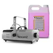 S1500LED Fog Machine Incl. 5-litre Fog Fluid 1500W