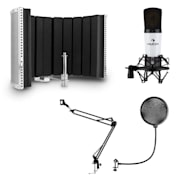 MIC-920 USB Microphone Set V5 Microphone Swivel Arm Pop Protection Screen