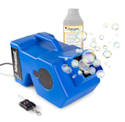 B1000 Bubble Machine Seifenblasenmaschinen-Set + 1 Liter Liquid