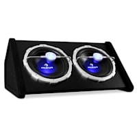 Car Audio HiFi System 'Black Line 140' Subwoofer, Amplifier 4000W Set
