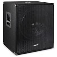 "Vonyx Bass Storm DJ PA-Set | PA-Verstärker: 2 x 500 Watt | 2 x passiver PA-Subwoofer: 15"" (38cm) / 600 Wmax. | Bluetooth-Funktion | Mediaplayer mit MP3-Recorder | LED-Display | USB-Port | SD-Slot | Line-Eingang | inkl. Fernbedienung | inkl. PA-Kabel"