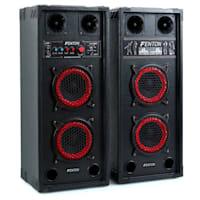 "Impianto Karaoke ""STAR-Wedding"" Casse PA 800 W| Set 2 Canali VHF Radio Microfono"
