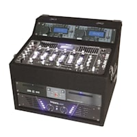 DJ set Rack Star Terra Titan, 2000 W, 400 fő