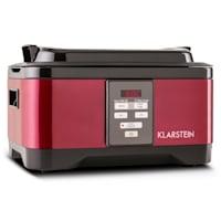 Klarstein Tastemaker Sous Vide + Foodlocker Slim + vákuumozó fólia, készlet vákuumos főzéshez, elektromos főzőedény/vákuumozó gép/fólia