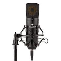 MIC-920B, USB микрофонен комплект V2 - слушалки, кондензаторен микрофон, стойка за микрофон, pop filter
