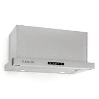 Vinea, odsavač par, set náhradních filtrů s aktivním uhlím, 60 cm, 610 m³/h, stříbrná