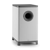 Reference 851 5.1-Soundsystem Bianco incl. cover argento