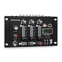 DJ-21 BT DJ-Mixer Set di Mixer USB Microfono Nero