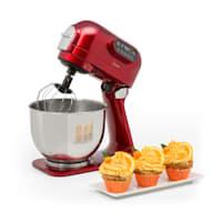 Curve Plus, kuchynský robot, sada, 5 l, 4-in-1, mlynček na mäso, červený