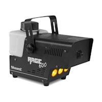 Rage 600LED Nebelmaschine inkl. Nebelfluid 600W 65m³/min 3xLED 0,5l Kabelfernbedienung