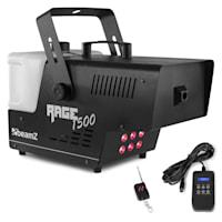 Rage 1500LED, Macchina del Fumo, Liquido incl., LED, 350m³/min, 1500W