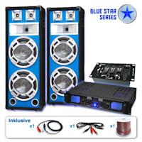 PA Set Blue Star Series 'Basskern USB' 2800 Watt