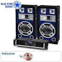 "Blue Star Series ""Beatbass II"" sistema audio 1200 Watt"