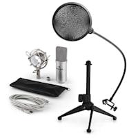 MIC-900S USB Set Microfono V2 | Condensatore-Microfono | Anti-pop | Stativo