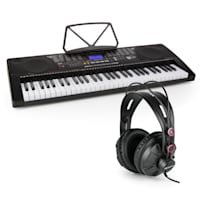 Etude 255 USB Lern-Keyboard mit Kopfhörer 61 Tasten USB LCD Display