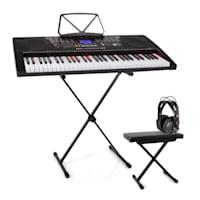 Etude 255 USB Lern-Keyboard Set Kopfhörer, Keyboard-Stand & Sitzbank